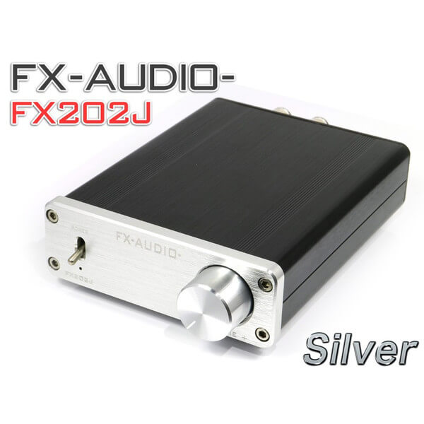 中華アンプ FX-AUDIO- FX202Jのすすめ【5万円以下】