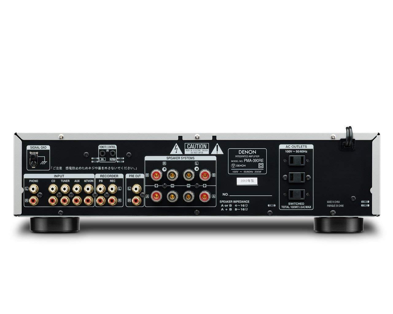 PMA 390RE 1 - 【奇跡の名機】DENON PMA-390REが低価格でナンバーワンのアンプ【5万円以下】