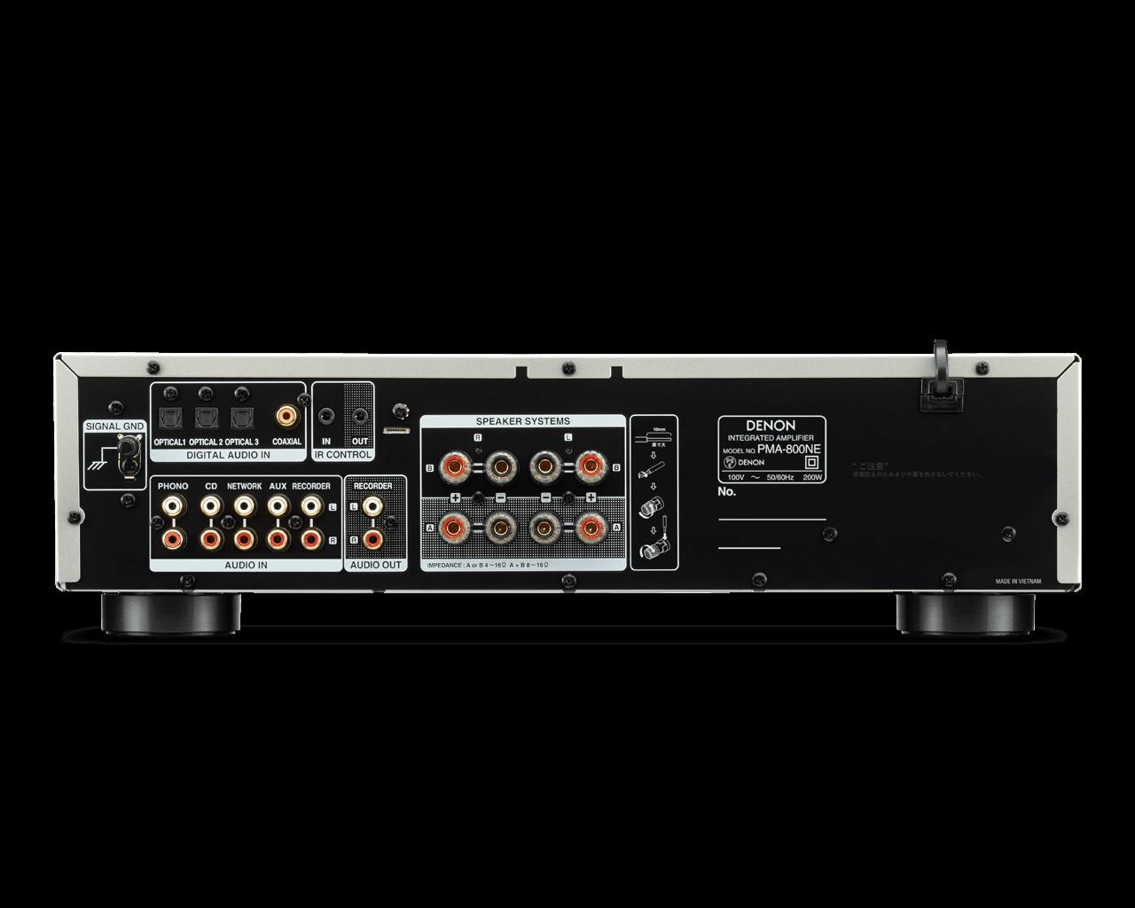 PMA 800NE rear compressor - 【DENON PMA-800NE】価格を超えたエントリークラスのおすすめアンプ【10万円以下】