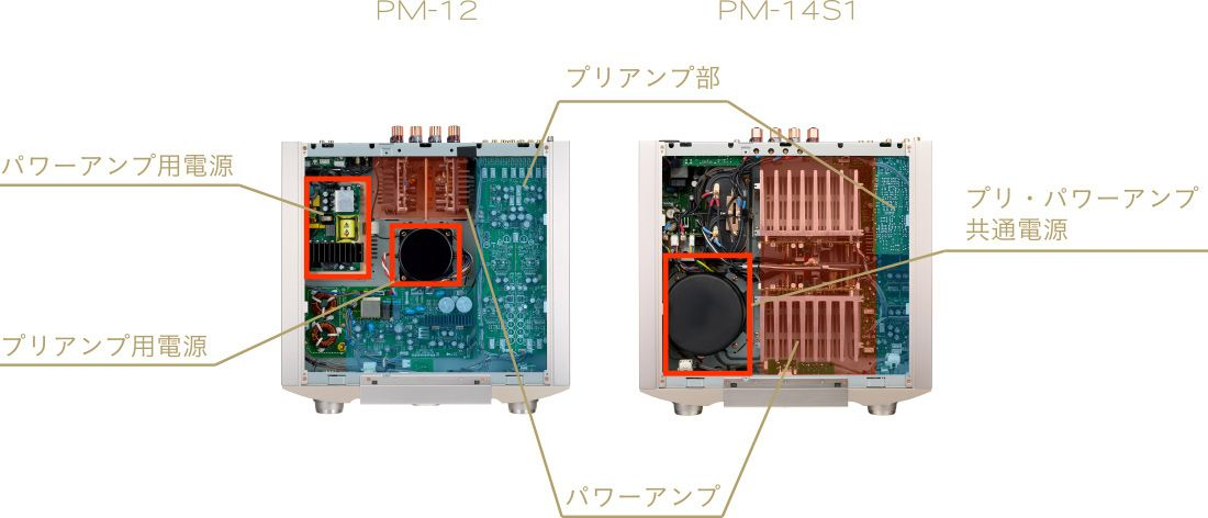 amp sec img02 compressor - MARANTZ(マランツ)プリメインアンプ PM-12 レビュー【20万円台】