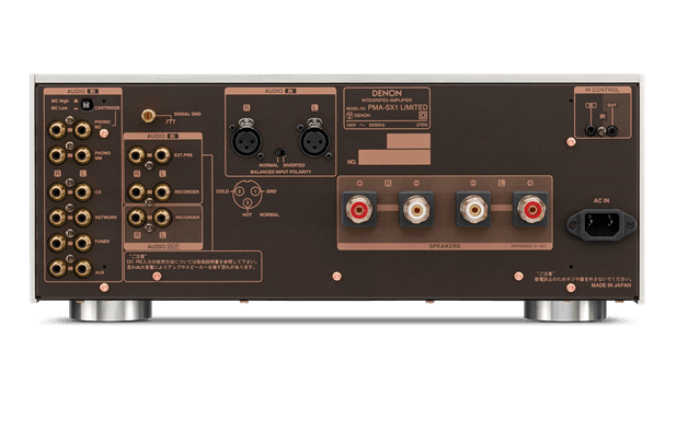 EL pma sx1 limited re compressor - DENON(デノン)プリメインアンプ PMA-SX1 LIMITED試聴レビュー【50万円以上】