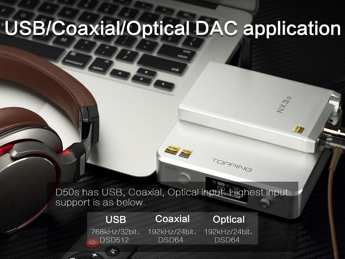 2513911 - 【中華DAC】TOPPING D50s購入レビュー【5万円以下】