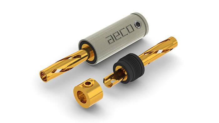 aeco ABP 1111G 5 - バナナプラグのおすすめ紹介!11種類の音質を比較レビュー!